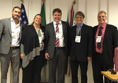 Dr. Eduardo Camelo de Castro e os Professores Convidados para a Jornada de Reprodução Humana em Goiânia